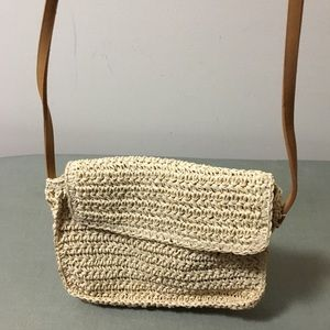 Handbags - Straw crossbody